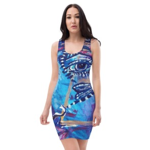 Dragonfly Third Eye Tank dress Front